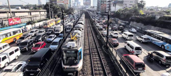 Dopravní džungle na Filipínách
