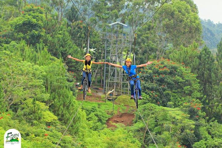 Skycycle Eden Nature park