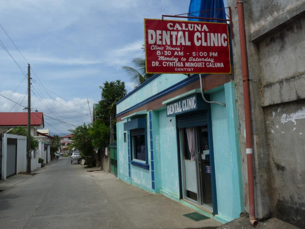 Jedna ze zubařských ordinací v Puertu