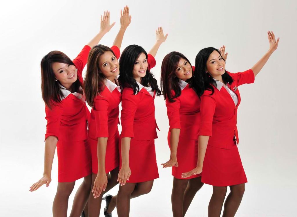 Nejhezčí letušky jednoznačně mají Air Asia