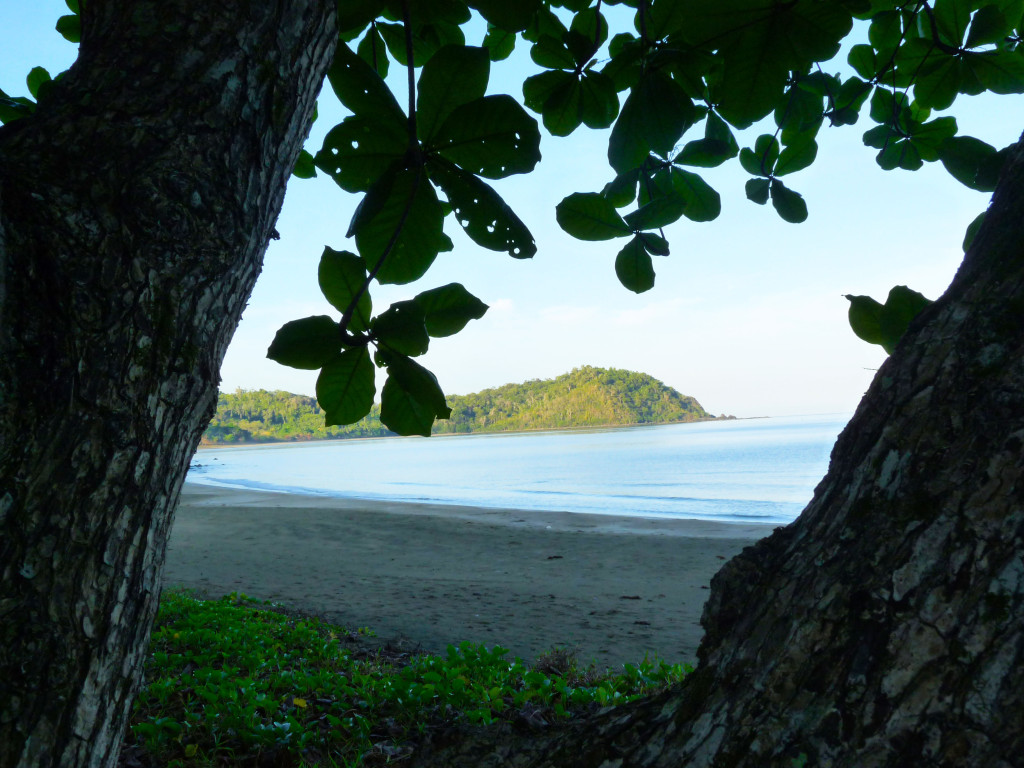 Pod horami skrytá pláž, Palawan