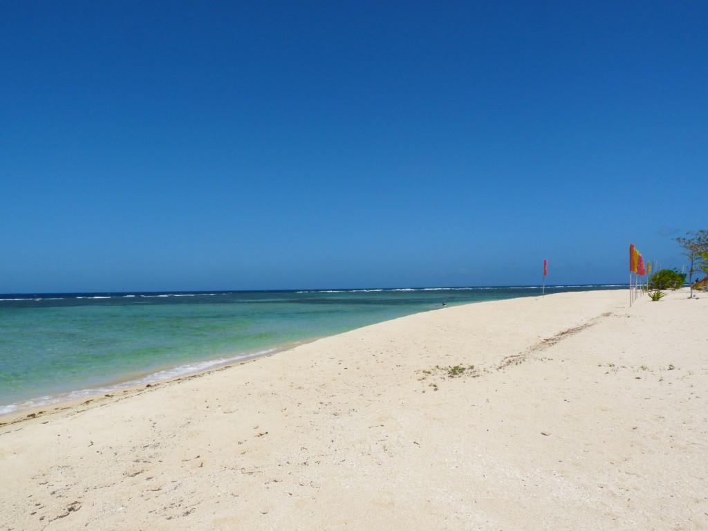 Pláž na Arena islandu