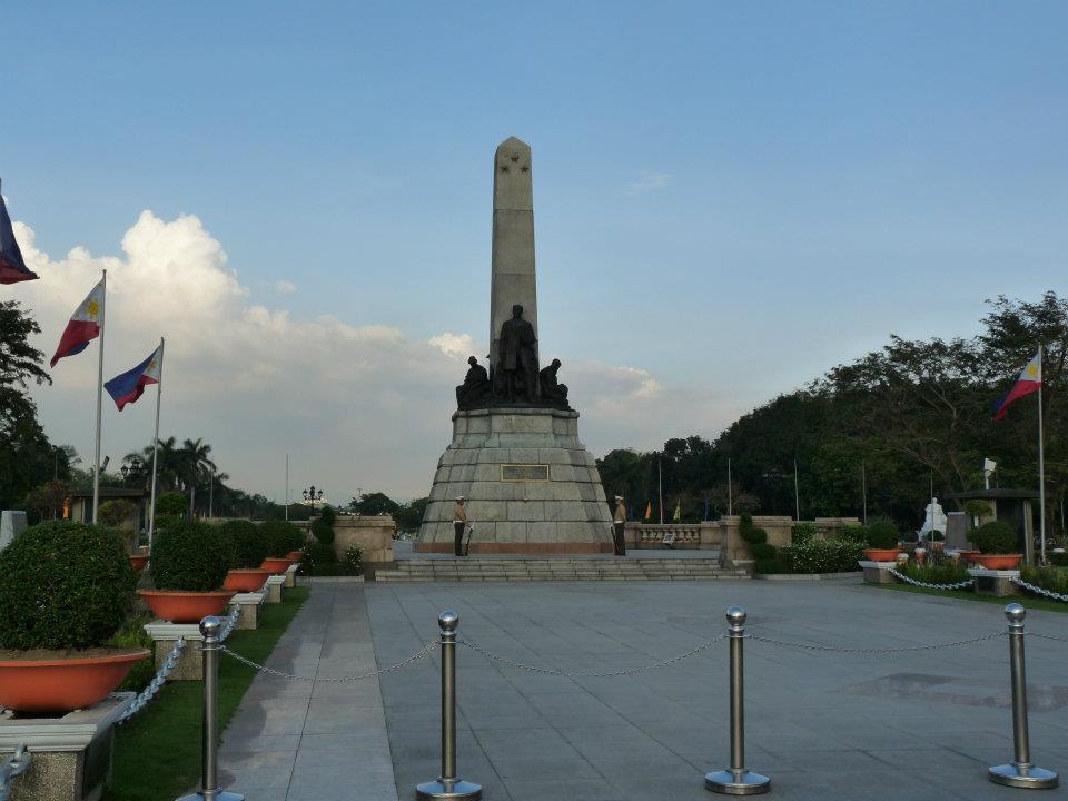 Památník v Rizal parku v Manile