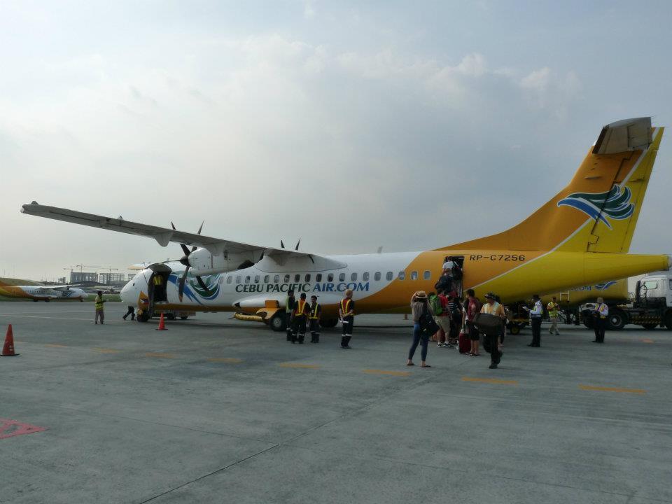 Vrtuláček z Manily do Catlicanu (Boracay)