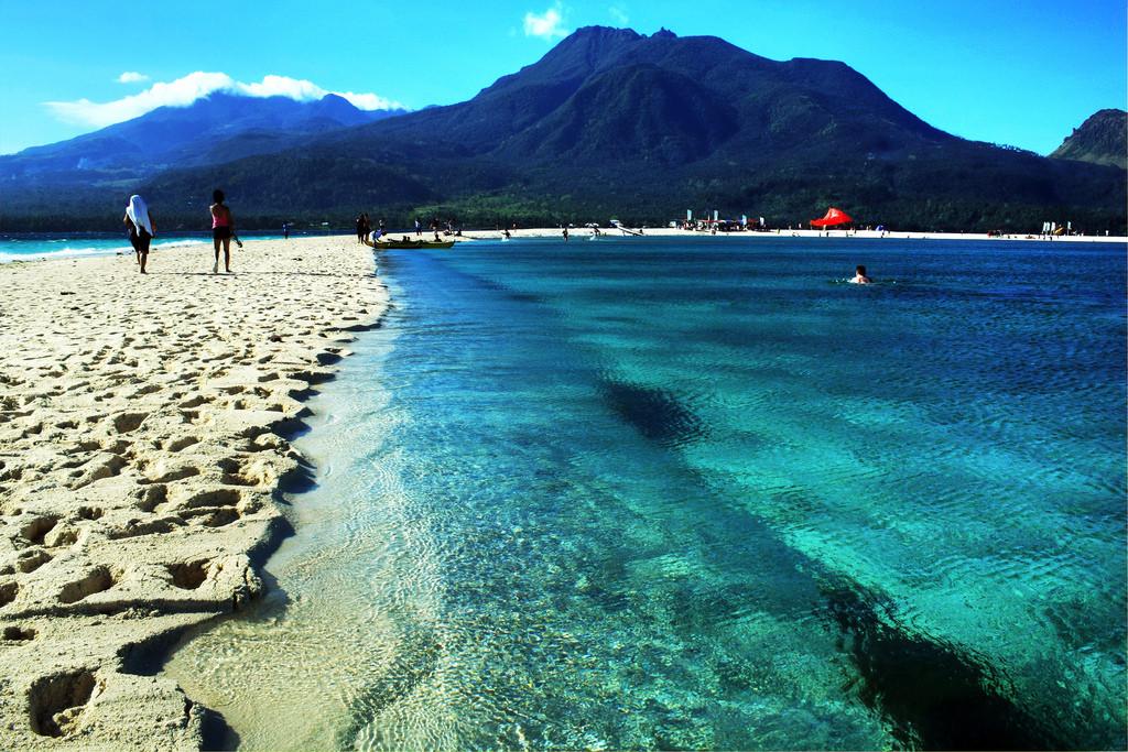 Camiguin, White beach, autor: Allan Donque