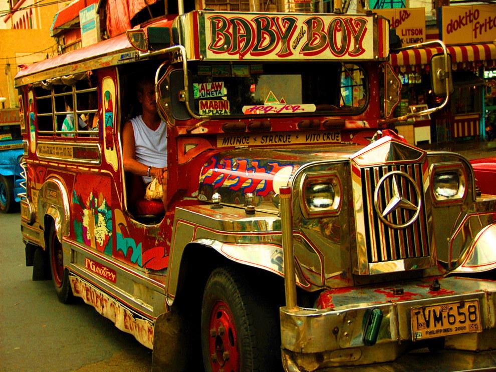 Filipínský Jeepney