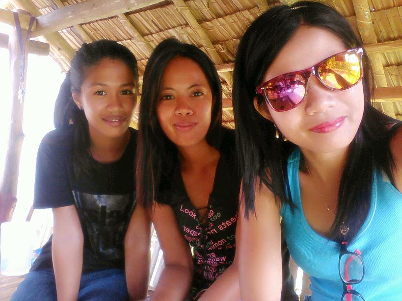 Tři filipínské kamarádky :)