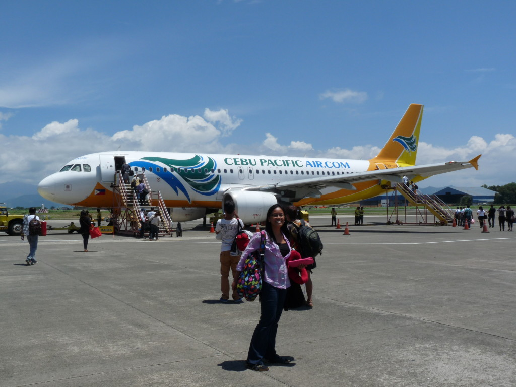 Začátek naší dlouhé cesty, letiště Puerto Princesa