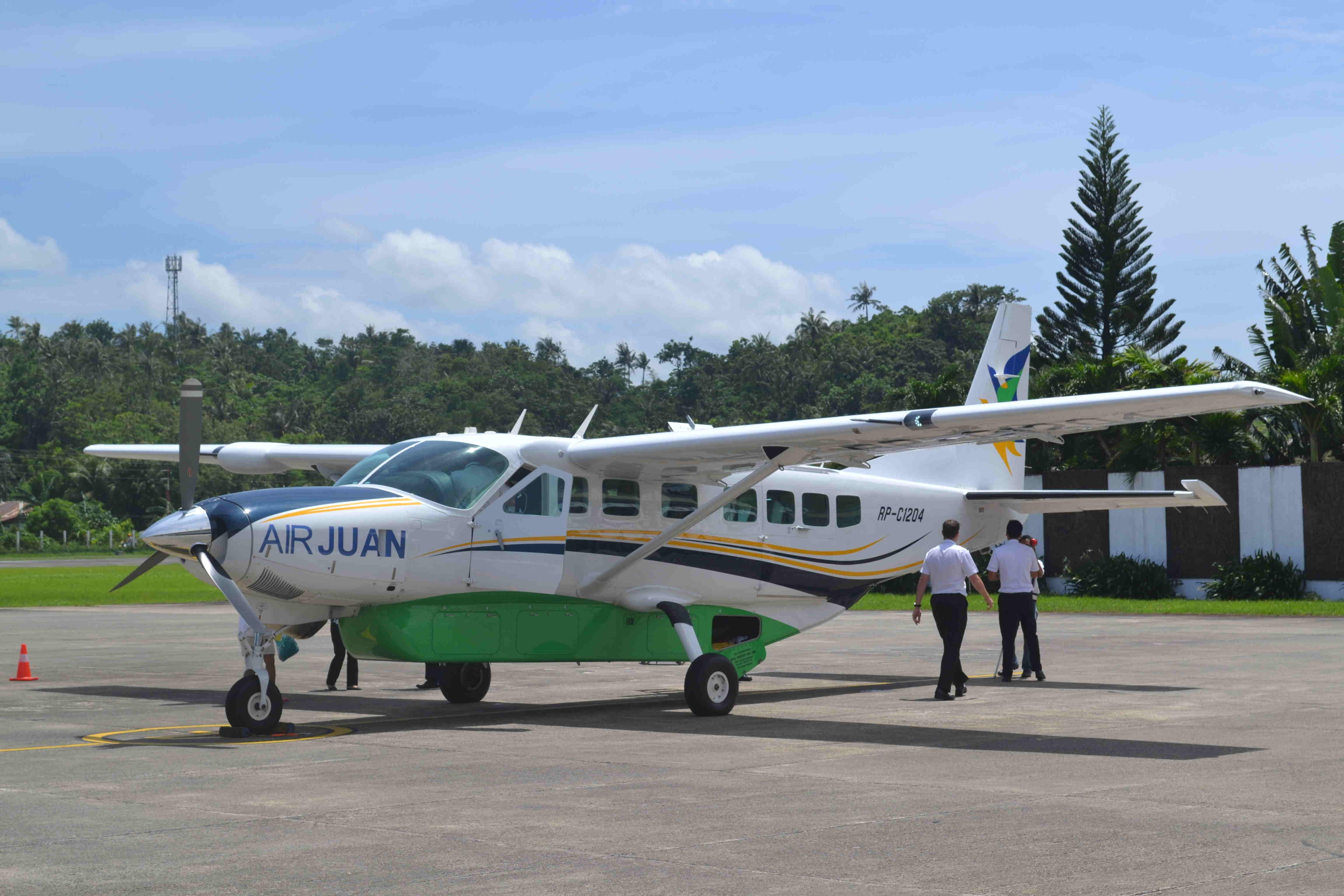 Letecká společnost Air Juan a nová možnost rychlé přepravy mezi Coronem a Boracay