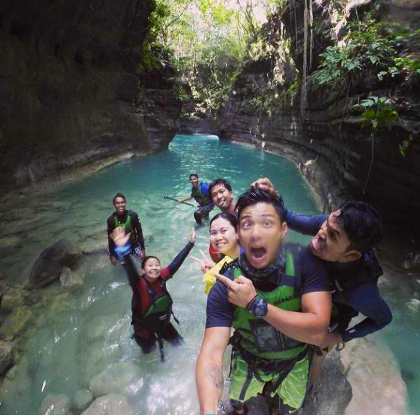 Moalboal, Canyoneering, autor: http images.gmanews.tv