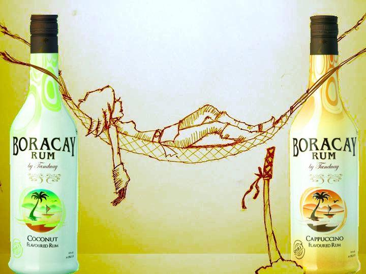 Trošku v pozadí je Boracay rum, ale doporučuji ho aspoň ochutnat.
